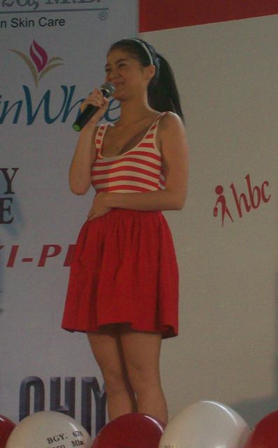 Anne Curtis sharing her beauty secrets