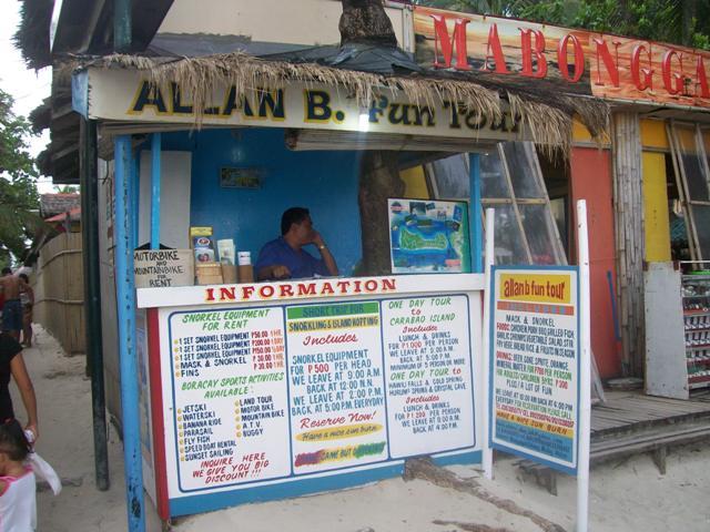 Allan B Fun Tour Booth at Station 3