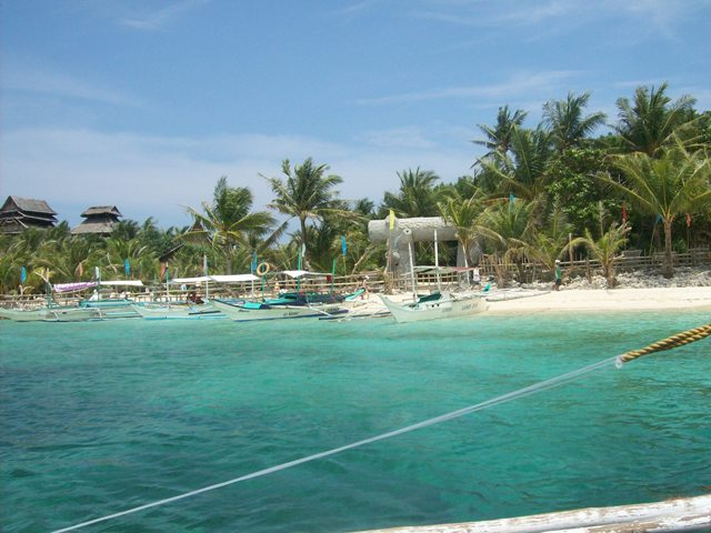 Crystal Cove, a popular private island in Boracay