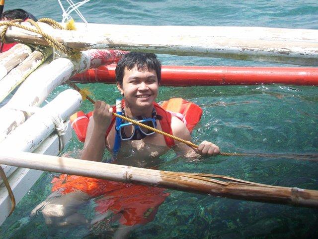 Batang Yagit at the Beach