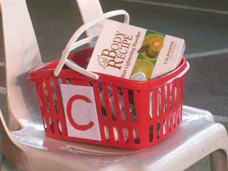 HBC Products in a basket