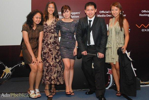 Nyoks at the 1st Nuffnang Blog Awards Photo By Ada Lajara