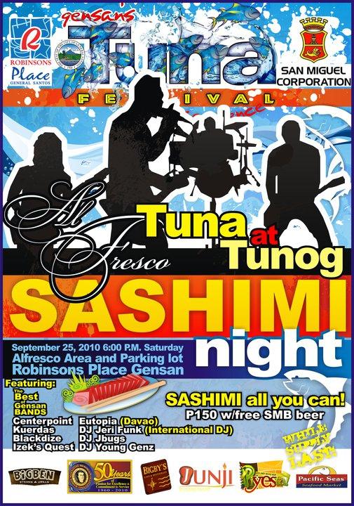 Sashimi Night @ Alfredo Strip Robinson's Gen San
