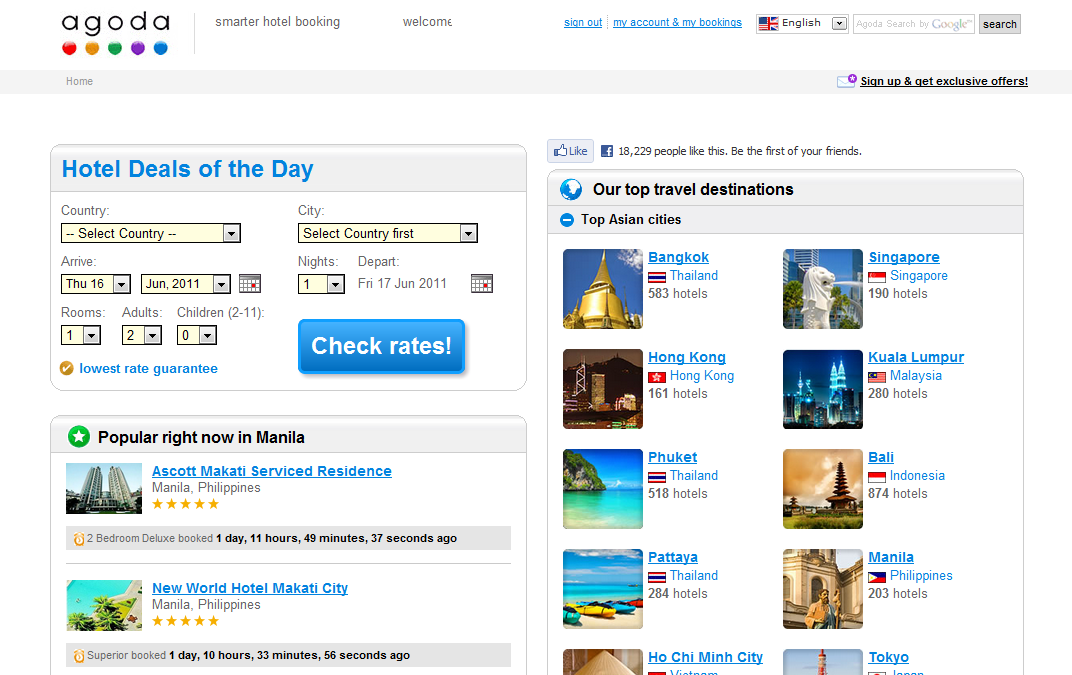 Online Hotel Booking Site Reviews