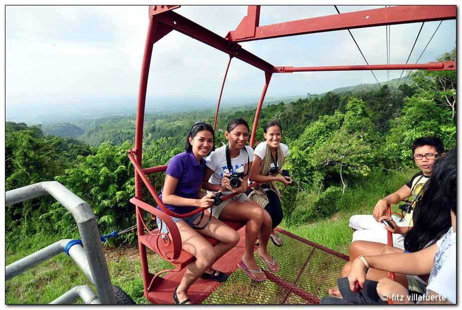 Rina, Tiara and Me before the 'takeoff'