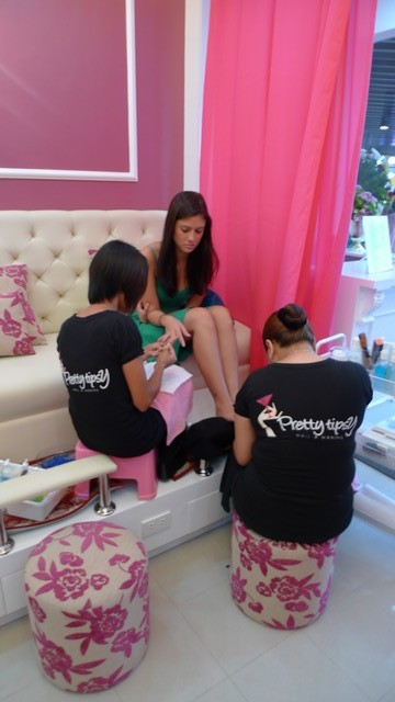 Bianca King in Pretty Tipsy Nail & Waxing Salon