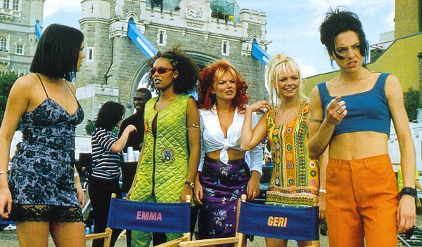 Spice Girls at the Tower Bridge (from Spice World The Movie)