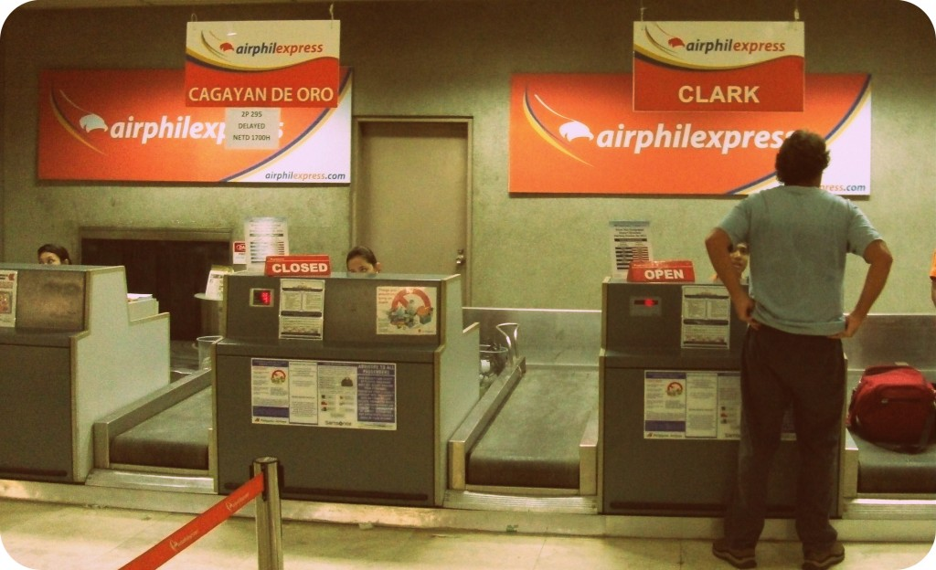 AirPhil Express Check-in Counter (Mactan International Airport Cebu)