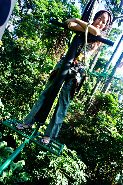 Silver Surfer Time! Ready? (@Treetop Adventure Subic)