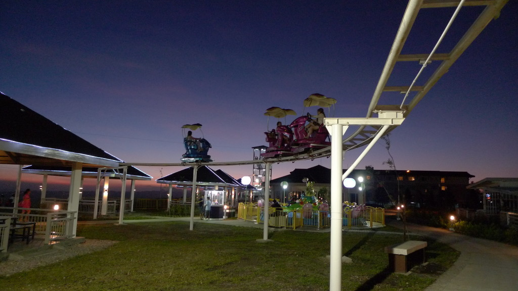 The lamest ride in Sky Eye Adventure Park according to Alain