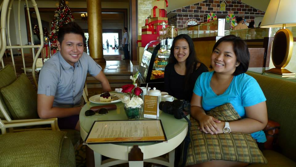 Alain, Mica and Maire reunited :D