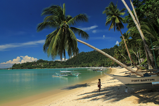 Port Barton in Palawan | Photo by EAZY Traveler