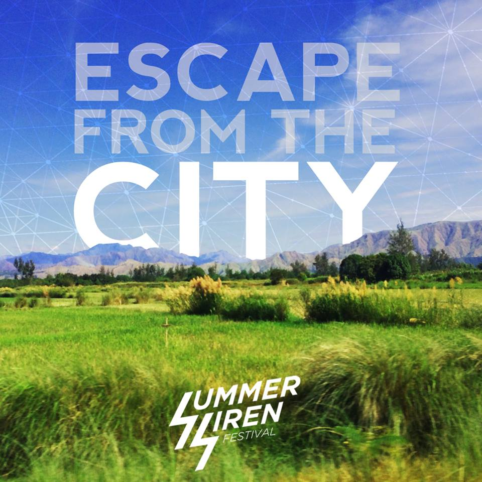 ESCAPE from the CITY - Join the Summer Siren Festival!