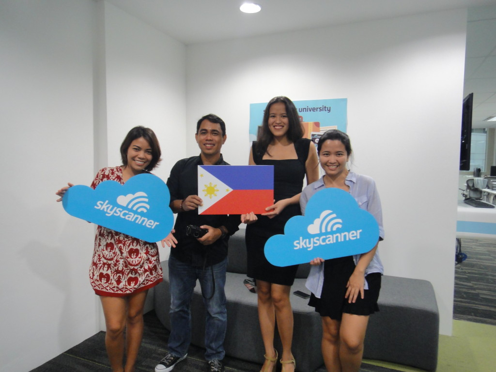 TEAM PHILIPPINES: Carla, Allan, Mica and Che