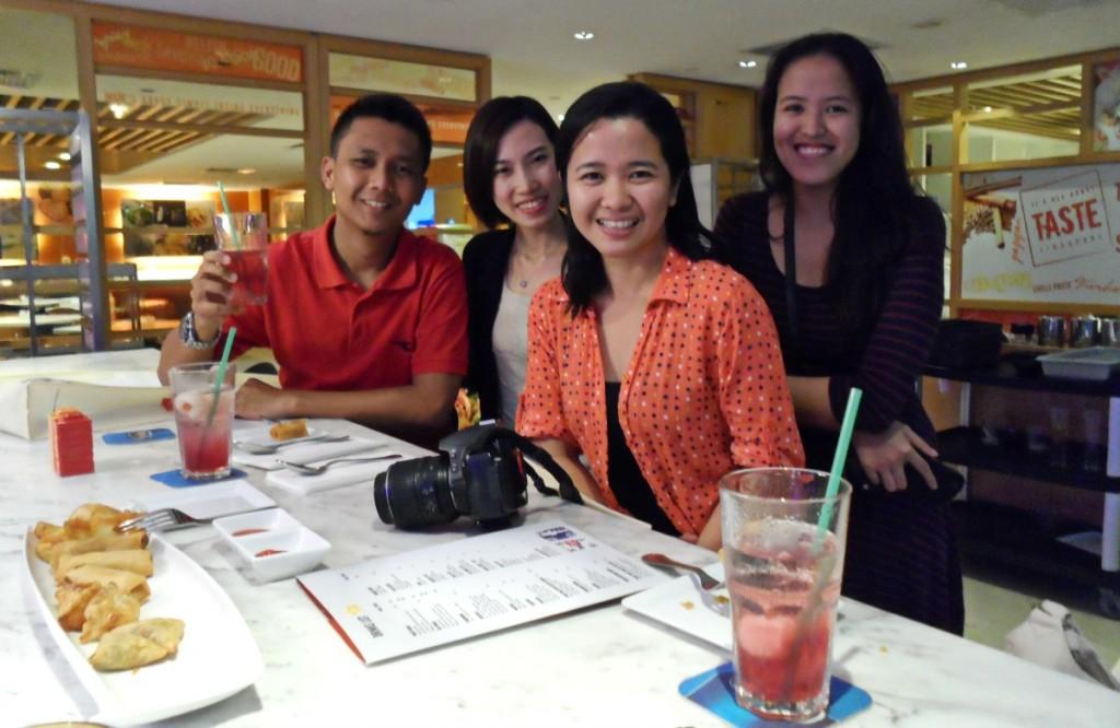 Fahmi, Alison, Che and Me