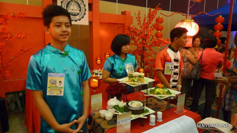 Even high school students of Divine Word Academy (DWAD) participated with three bangus dishes