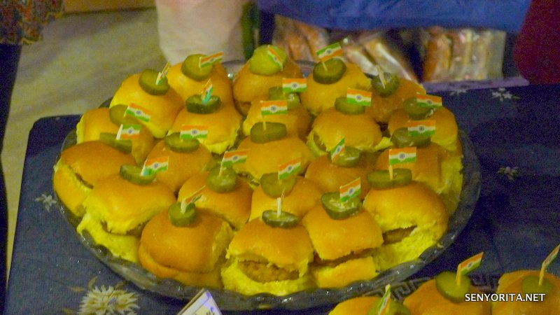 Bangus Burgers from Sri Lankan participants