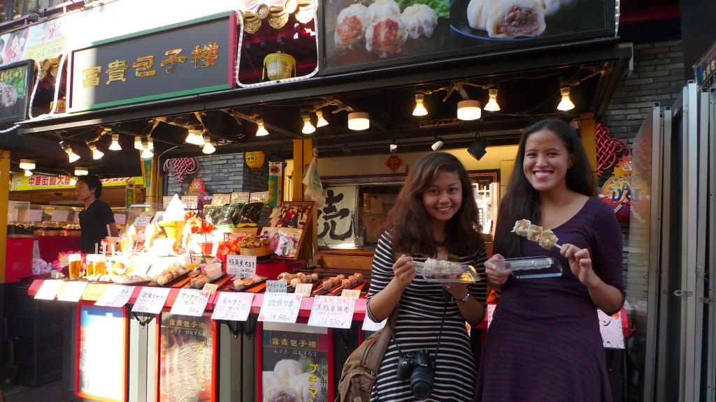 At Chinatown in Yokohama