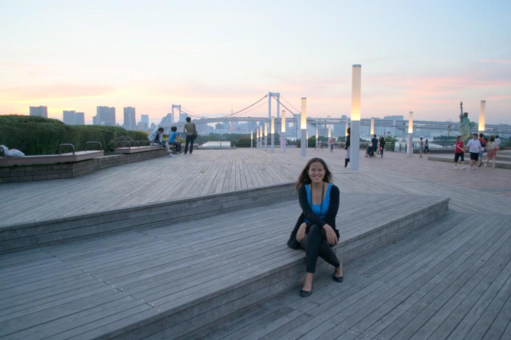 Just chillin' in Odaiba, Tokyo