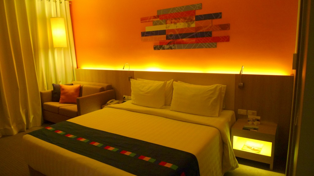 My Bedroom at Park Inn Davao by Radisson Blu - Nice resting place after DFAT!