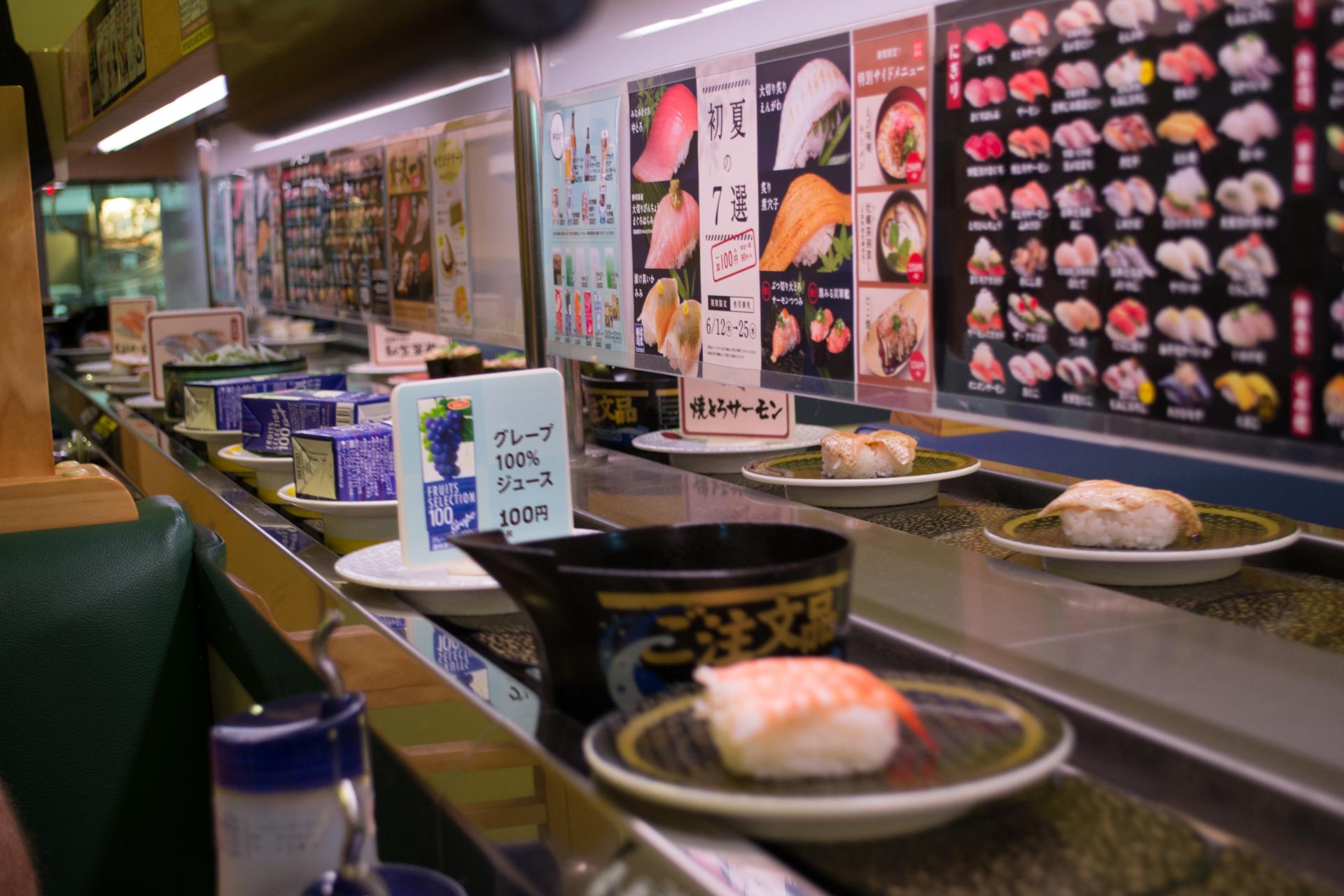 Kaitenzushi (Rotator Belt Sushi)
