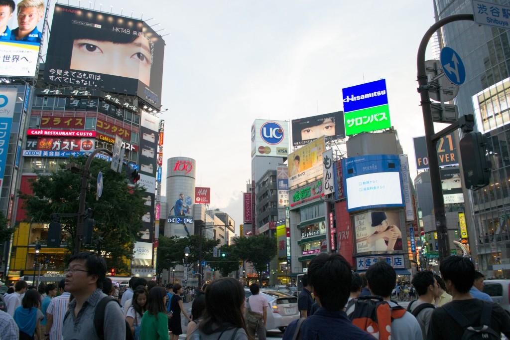 Shibuya is truly a busy place!