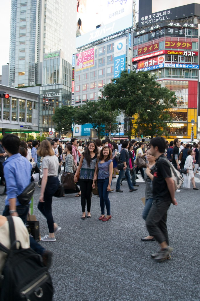 The obligatory Shibuya Crossing Tourist Photo. We could've done a jumpshot if we went here in 2010!
