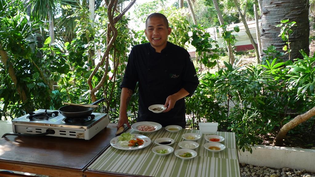 Chef Wesley Valdez