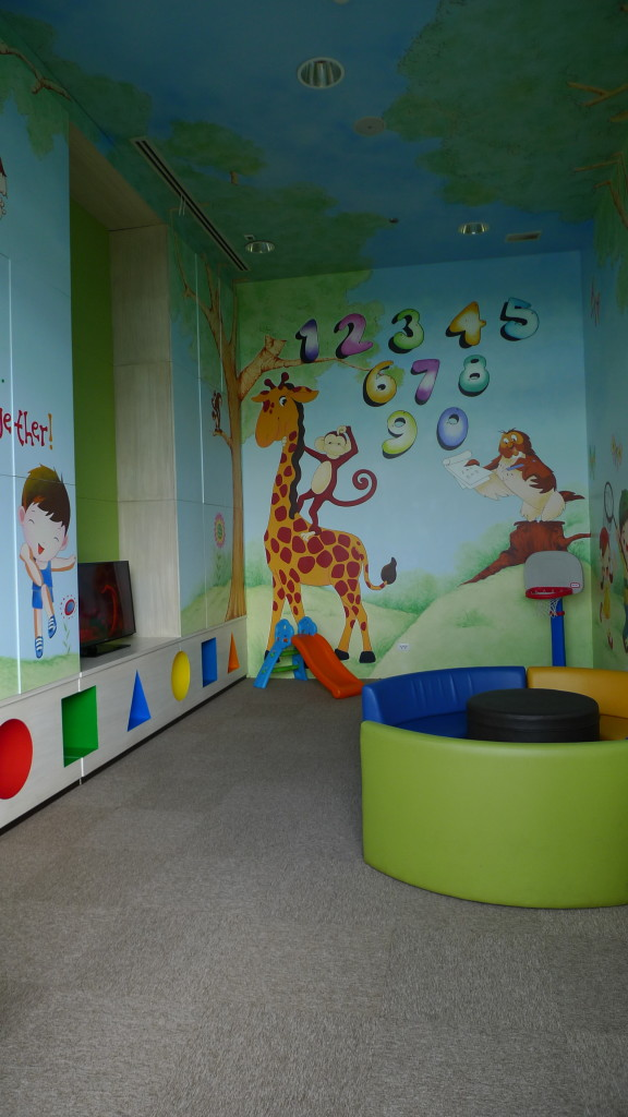 Kids getting impatient? Place them in the PLAYROOM!