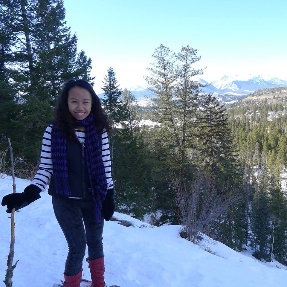 Snowshoeing in Keystone, Colorado