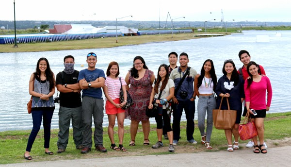 With fellow travel bloggers :D Photo grabbed from Chamee