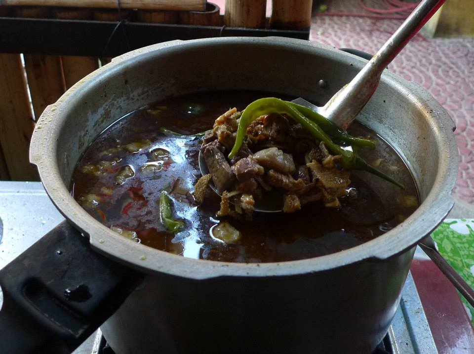 Lanelle's home-cooked Pinapaitan - The Best!