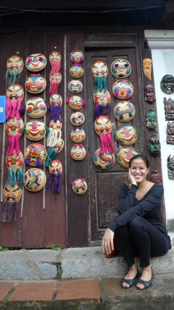 Hanoi-Vietnam-Temple-of-Literature-Masks