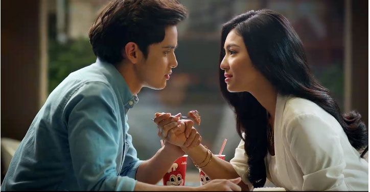 Now I believe Forever does exist because Burger Steak with Mashed Potato and Egg is still available in Jollibee. And yeah, I want a hot date like James Reid too