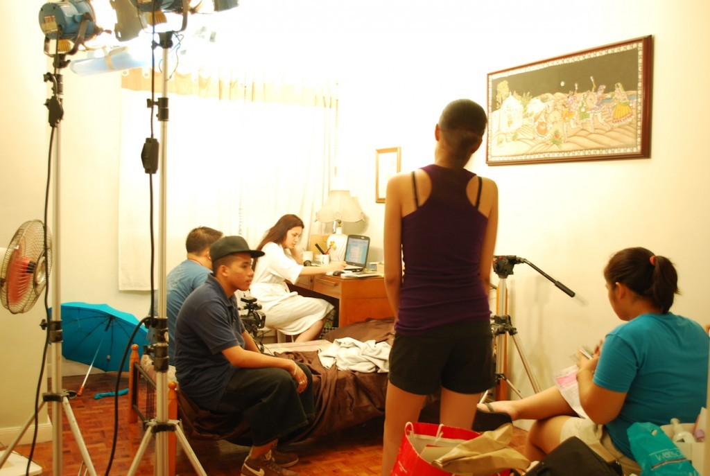 BTS of The 12th of June - That's me in violet. I realize now that I was so thin lol
