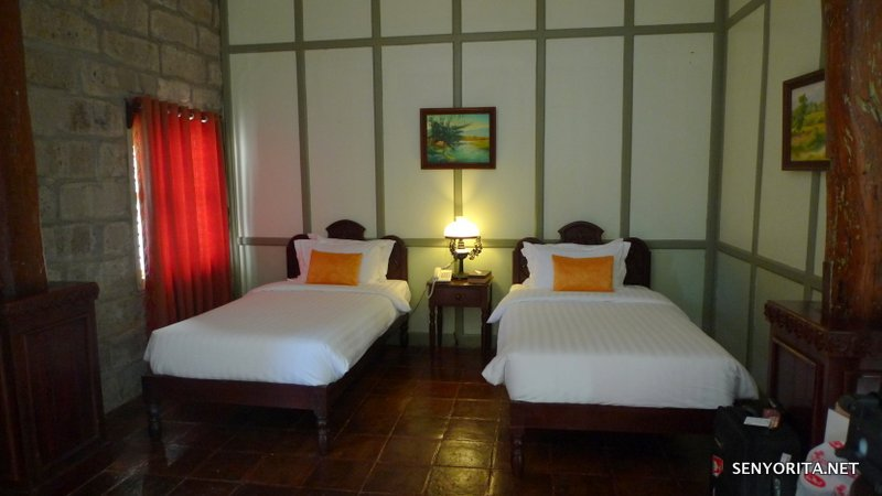 Our room for two nights (Jain 2)
