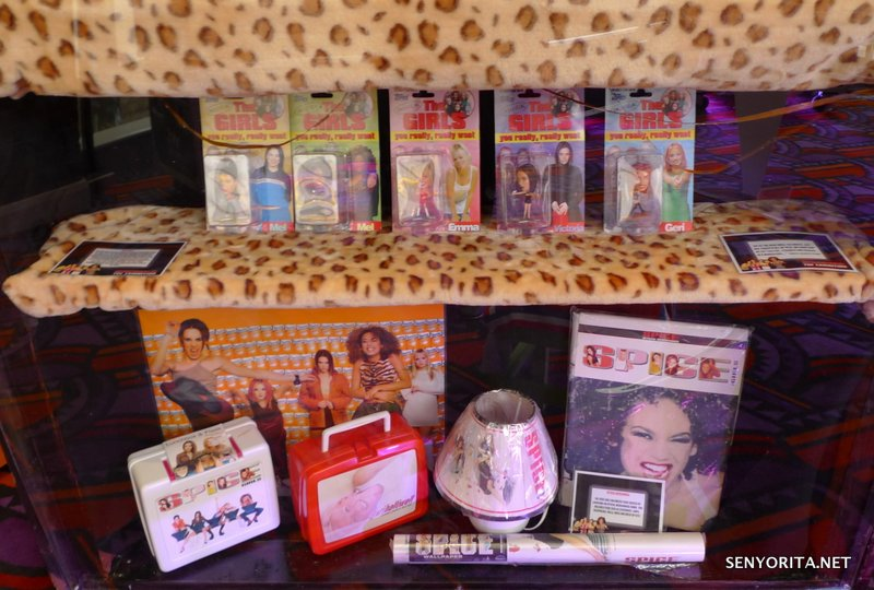 More official and unofficial Spice Girls merchandise