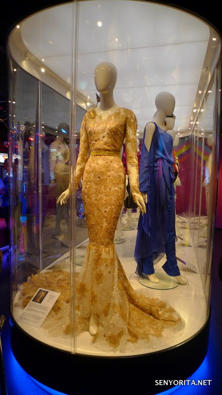 The gown worn by Conchita Wurst, the Austrian bearded drag queen who won in Eurovision 2014 with the song 'Rise of the Phoenix'