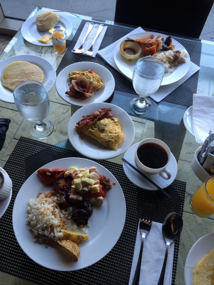 Breakfast buffet in hotels are the best!