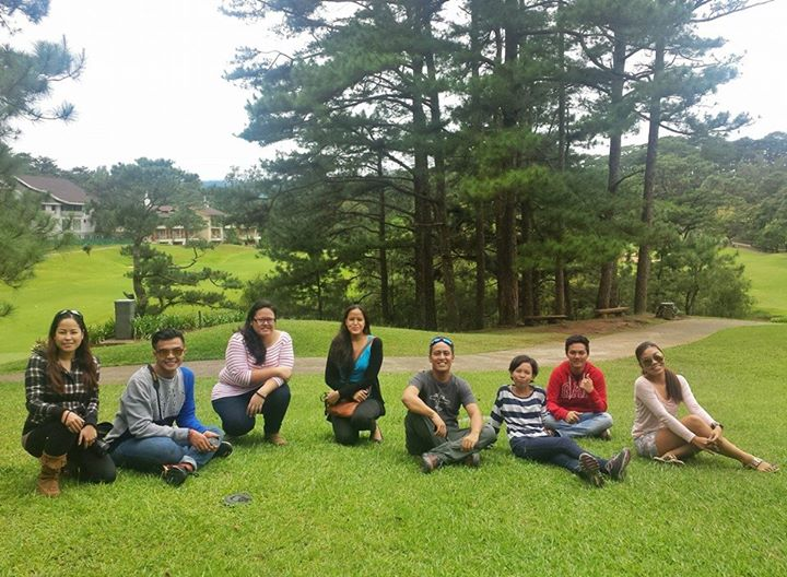 With fellow Pinoy Travel Bloggers in Baguio City