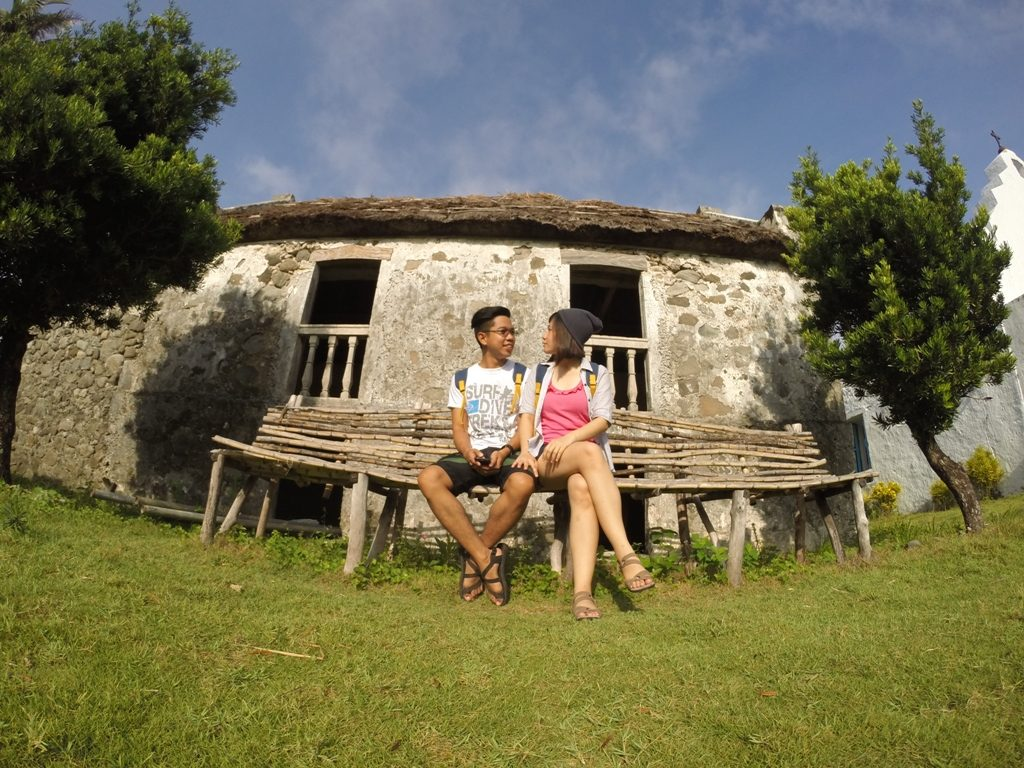 Celine Reyes of Celineisms with now fiance Dennis in Sabtang