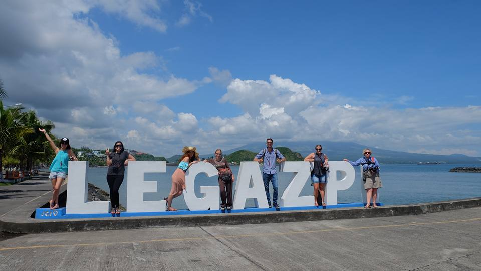 Travel Bloggers from Singapore, Philippines, Germany, Australia and South Korea in Legazpi | Photo by Yogo and Cream