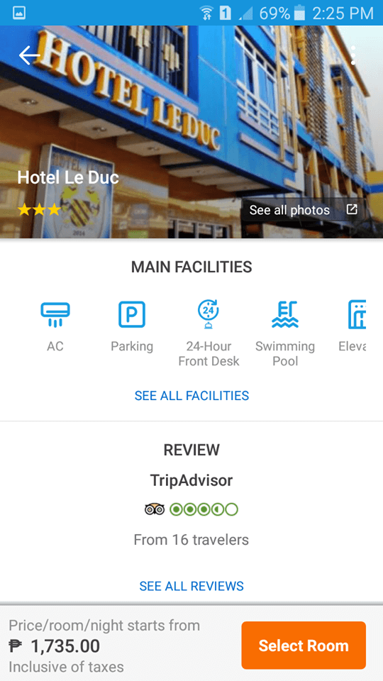 Hotel Le Duc in Traveloka App