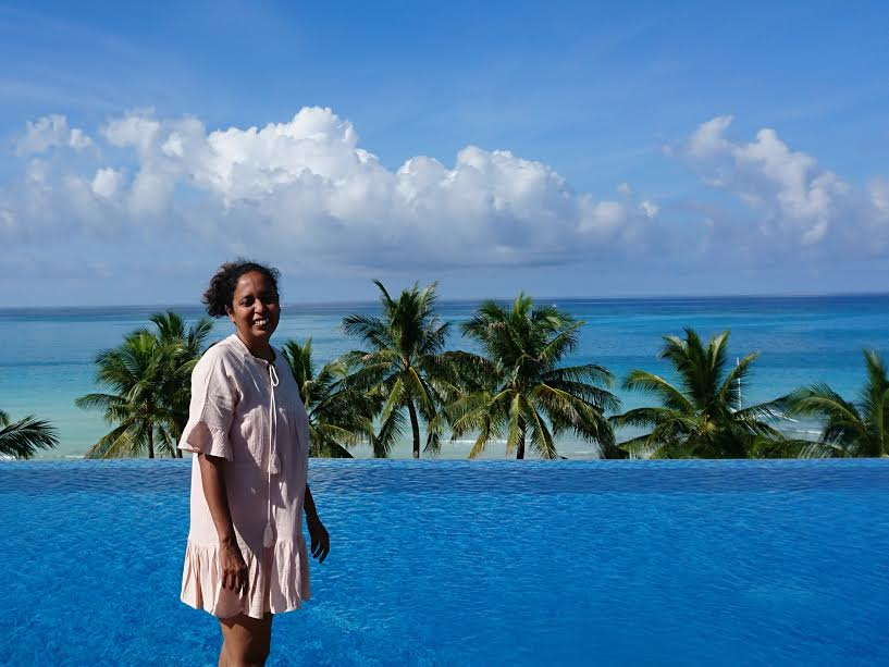 Mridula Dwivedi of Travel Tales in India can't help but smile and be happy in The Lind Boracay!