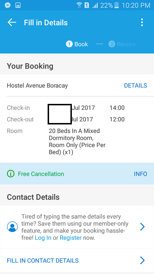 Traveloka-Boracay-Payment