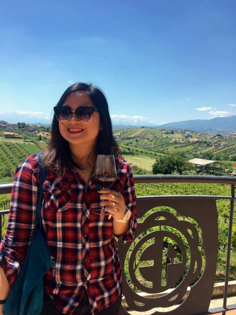 At Vini Pepe in Abruzzo, one of the vineyards participating at the Cantine Aperte 2017