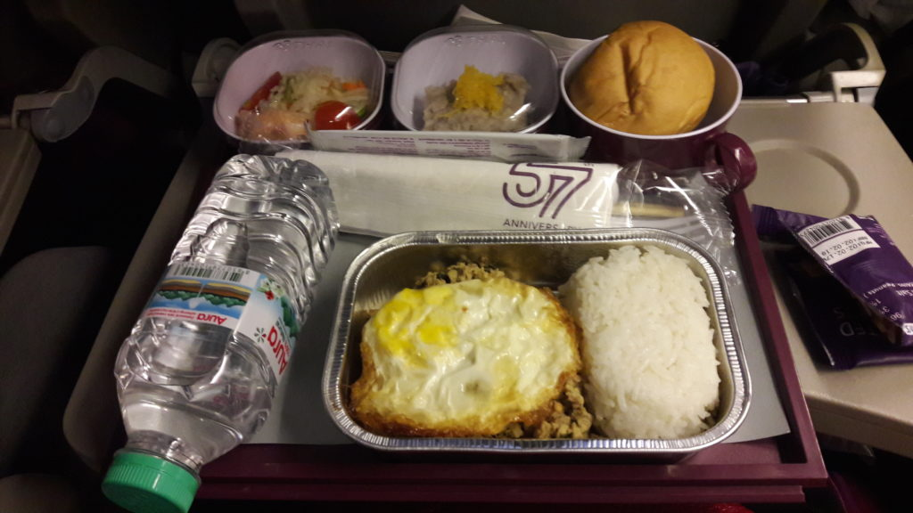 Thai Airways' inflight meal (Manila-Bangkok)