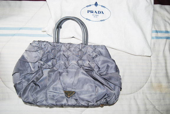 PRADA Origami evening bag- P70,000