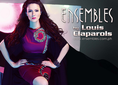 Carmina Villaroel in Ensembles by Louis Claparols