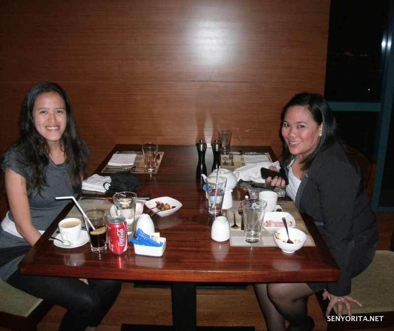 Dinner with Ms. Janarie Vazquez of Radisson Blu Cebu